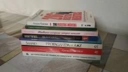 Lote de livros 8 unidades
