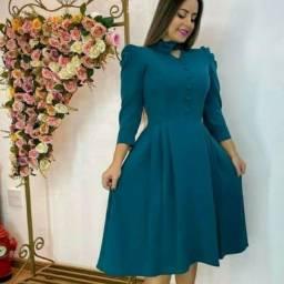 Lindo vestido moda evangelica