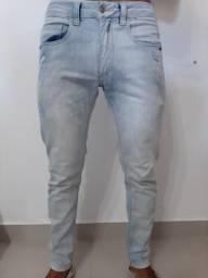 calça jeans osklen (p)