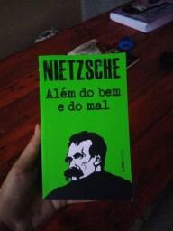 Livro Nietzsche Além do bem e do mal
