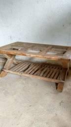 Lote de madeiras de demolição Pinho de Riga mesa