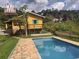 Chácara rica em água, 2 lagos, pomar, 03 dormitórios à venda em Pedra Bela/SP