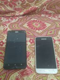 Celular Smartphone Samsung j1, Asus zenfone