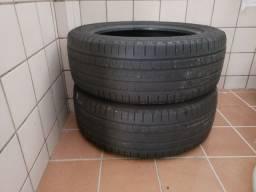 Dois pneus pirelli 225/55-18