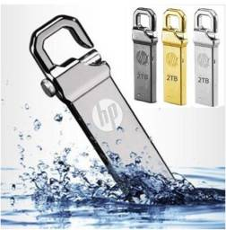 Pen Drive HP 2 Terabytes Prata