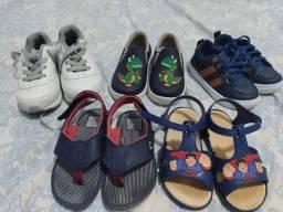 5 pares de sapatinhos