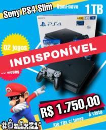 #Ônix21 - Sony PS4 Slim 1TB (INDISPONÍVEL)