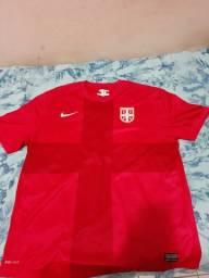 Camisa da seleção da Sérvia tamanho G só venda