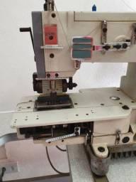Máquina de costura bate elástico
