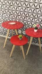Mesas de decoração lindíssimas
