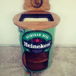 Barzinho personalizado Heineken