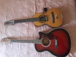 Viola e violão novos nunca usados