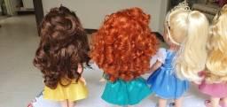 Coleção de bonecas princesas Disney originais