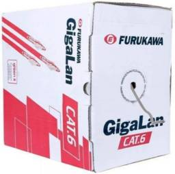 Cabo de rede Furukawa Cat6 Gigalan