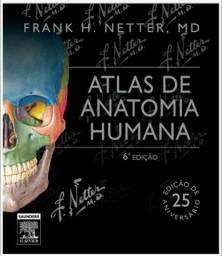 Livro atlas de anatomia Netter 6 edição