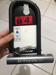 Cadeado U-Lock 500 para bicicleta novo