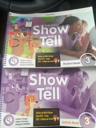 Livro de inglês show tell 3