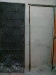 Portão de chapa