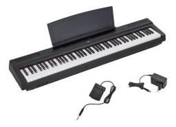 Yamaha Piano Digital P125 Produto Novo Loja Física