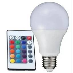 Lâmpada Colorida RGB com Controle