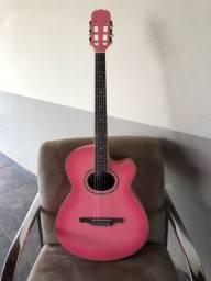 Violão Hofma rosa