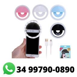 Luz de Selfie Ring Light Anel Led Celular Universal
