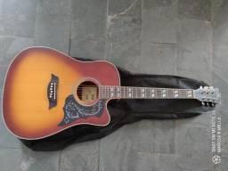 Vendo violão novo. Michael com nota fiscal e capa.
