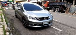Honda Civic 52km LXR com placa Mercosul