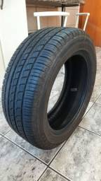Pneu Pirelli P7 195/55 R15 semi-novo 2000 km rodados