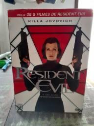 Coleção Box Resident Evil filmes DVD