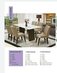 Mesa Vigo 06 Cadeiras