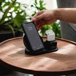 Carregador portátil celular e airpods