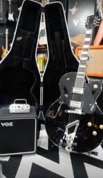 Kit Guitarra Gretsch com case + Vox Mv50 cabeça mais caixa