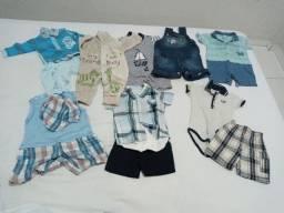 Lote de roupa para bebê