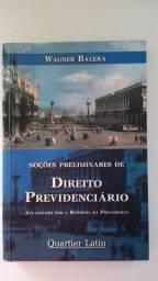 Livro Noções Preliminares de Direito Previdenciário