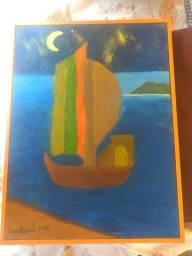Quadro Artístico feito por criança artista.
