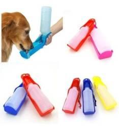 R$19,90 - Bebedouro Garrafa Pet Cães Agua Dog Água Portátil Passeios