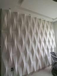 forro de drywall e parede 3d