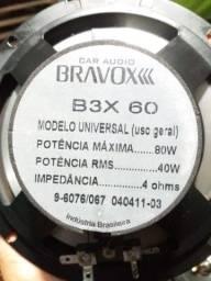 Alto falante Bravox valor 80 Reais