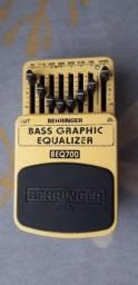 Pedal equalizar Beringer, BAS GRAPHIC