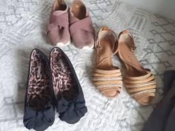 Calçados seminovos 34 e 33