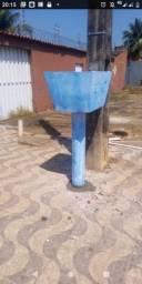 Lixeiras de concreto