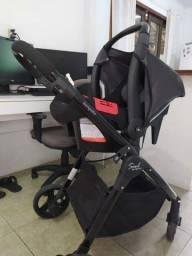 Carrinho e bebê conforto Burigotto Soul