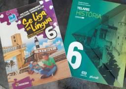 Livros 6 ano fundamental 2 ( Escola-Sesi)