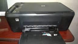 Monitor e cpu/ impressora e teclados