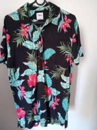 Camisa Florida da Zara
