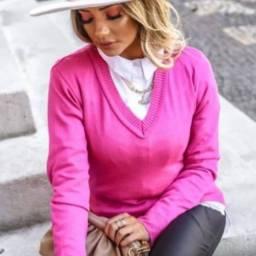 Blusa básica tricot