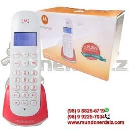 Telefone Sem Fio Com Identificador de Chamada Motorola Moto700-S em são luís ma