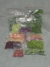 Frutas, verduras e legumes higienizadas