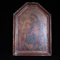 Réplica De Ícone Gótico Florentino Do Séc. Xiii